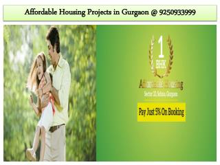 Affordable Housing Projects Gurgaon