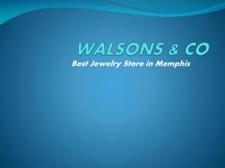 walsonsandco - Engagement Rings in Memphis  & Wedding Rings Memphis