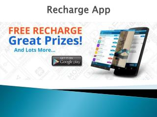 How can you earn free recharge for your smartphone?
