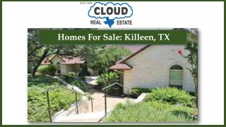 Homes For Sale: Killeen, TX