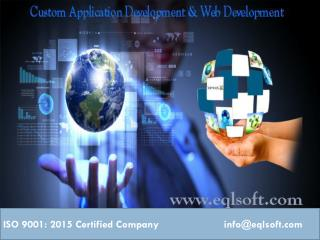 Eql business solutions pvt ltd |Custom application development