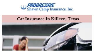 Car Insurance In Killeen, Texas