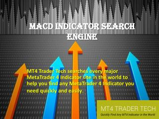 MACD Indicator Search Engine|Find ADX Indicator|Find MT4 Indicator