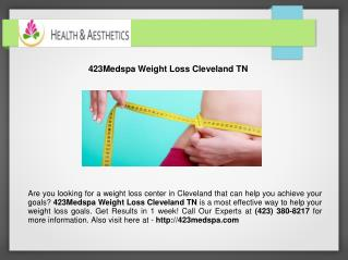 Weight Loss Cleveland TN