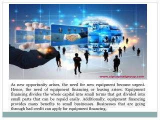 equipment financing bad credit