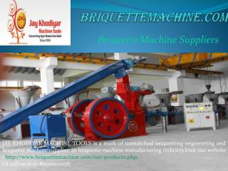 Briquetting Machine | Briquette Machine Suppliers