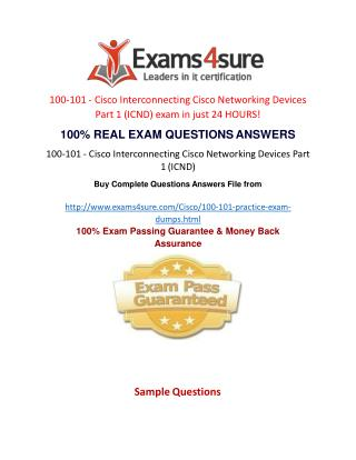 100-101 Practice Questions