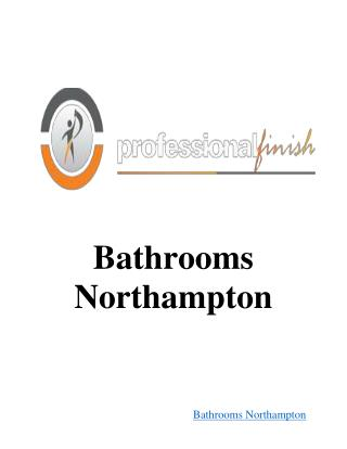 Bathrooms Northampton