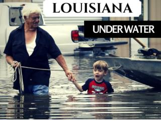 Louisiana under water