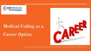Medical Coding as a Career Option
