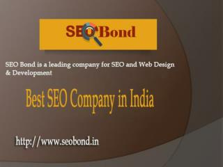 Affordable SEO (Search Engine Optimization) Services in India | SEOBOND