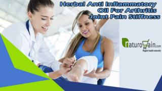 Herbal Anti Inflammatory Oil For Arthritis Joint Pain Stiffness