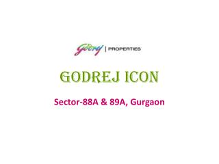 Godrej Icon Gurgaon – Godrej Icon Flats – Investors Clinic