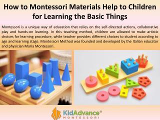 how does the montessori method of education develop the whole child How do children transition from the montessori version of kindergarten to first grade and will you prepare my child for public school how do i get my child started on the montessori path the montessori unlimited admission process what does development of the whole child mean.