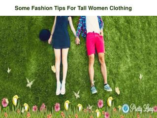 Tall Womens Clothing