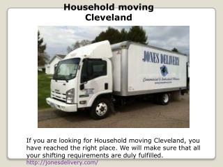 Household moving Cleveland