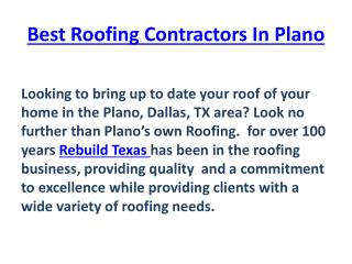 Commercial Roof Systems