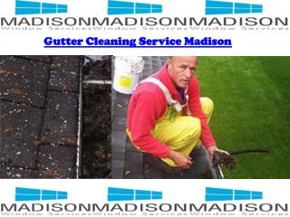 Gutter cleaning in Madison