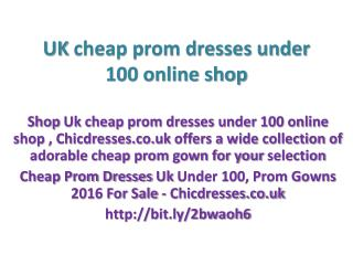 Cheap Prom Dresses Uk Under 100 |Prom Gowns 2016 For Sale