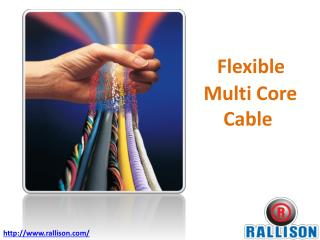 Flexible Multi Core Cable