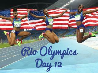 Rio Olympics: Day 12
