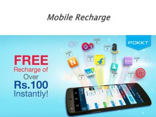 Avail a free mobile recharge without any hassles