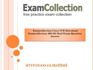 Pass your exam with Examcollection