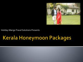 Best Kerala Honeymoon Packages in affordable range