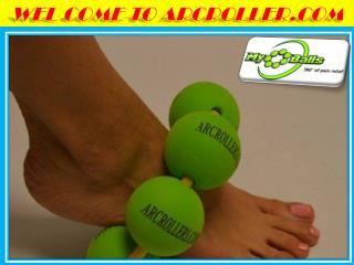 Improve your circulation through massage ball available at Arcroller.com