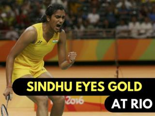 Sindhu eyes gold at Rio