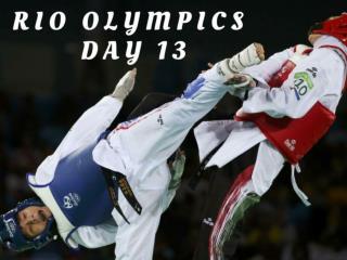 Rio Olympics: Day 13