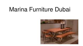 Marina Furniture