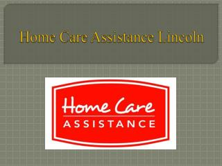 Home Care for Your Elderly Loved One