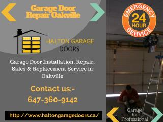 Garage Door Repair Service Oakville