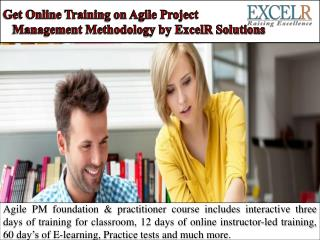 Get Online Training on Agile Project Management Methodology by ExcelR Solutions