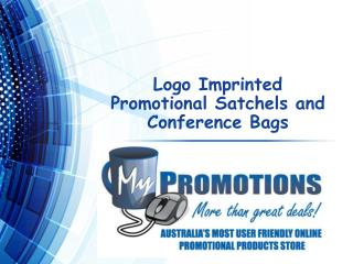 Logo Imprinted Promotional Satchels and Conference Bags