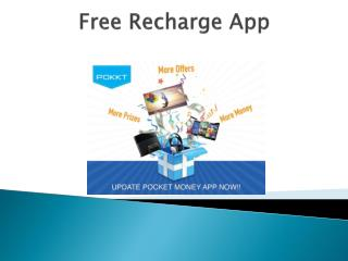 World of Free Recharge is calling, where are you?