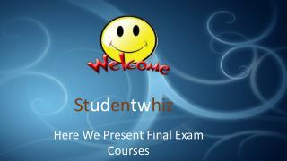LAW 575 Final Exam - LAW 575 Final Exam Answers @Studentwhiz