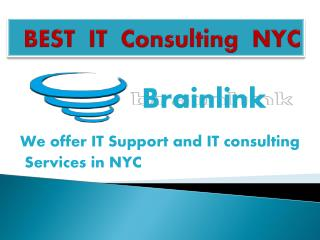 IT consulting nyc