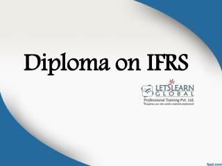 Ifrs Training Classes Hyderabad, IFRS Online Training, IFRS Training Classes - Lets Learn Global