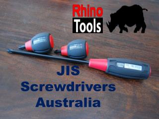 Purchase Online JIS Screwdrivers Australia