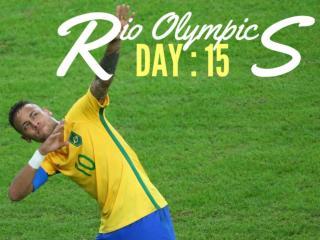 Rio Olympics: Day 15