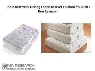 India Mattress Ticking Fabric Market Outlook to 2020