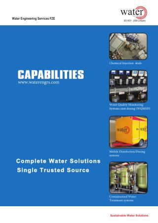 capabilities  water engineering Services FZE
