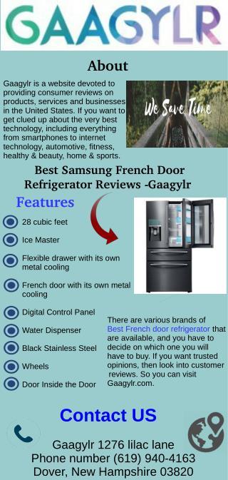 Best Samsung French Door Refrigerator Reviews - Gaagylr