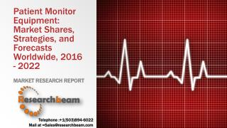 Patient Monitor Equipment: Market Shares, Strategies, and Forecasts Worldwide, 2016 - 2022