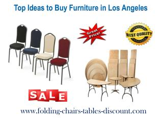 Top Ideas to Buy Furniture in Los Angeles
