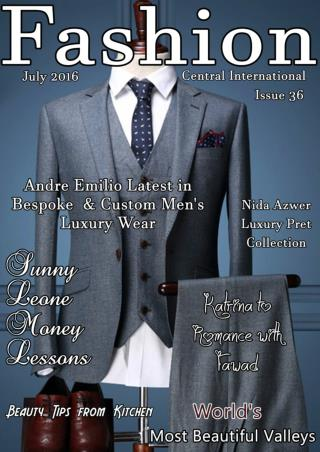 Fashion Central International Magazine August Issue 2016