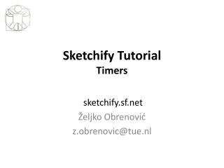 Sketchify Tutorial Timers