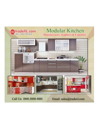 Choose the best Modular Kitchen Manufacturers & Suppliers at TradeXL
